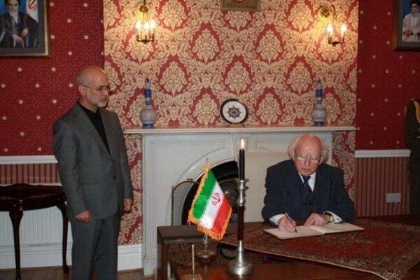 Iran, Ireland discuss regional issue