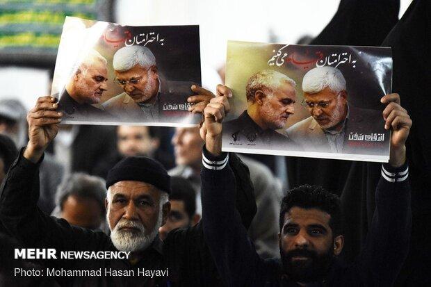 İran genelinde Devrim Muhafızlarına destek gösterisi gerçekleşti