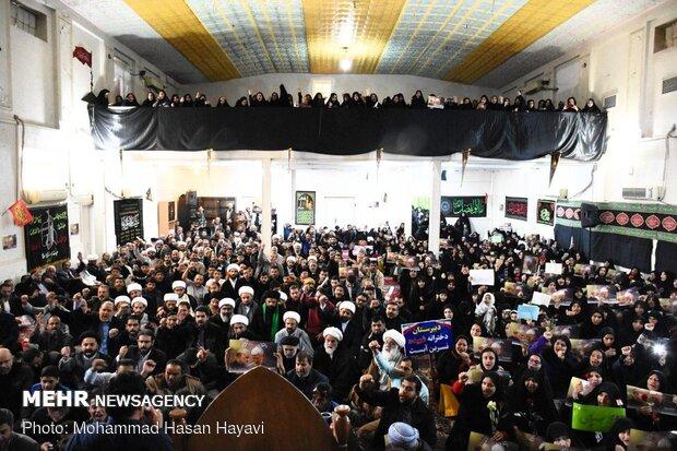 تجمع مردمی حمایت از سپاه پاسداران در آبادان