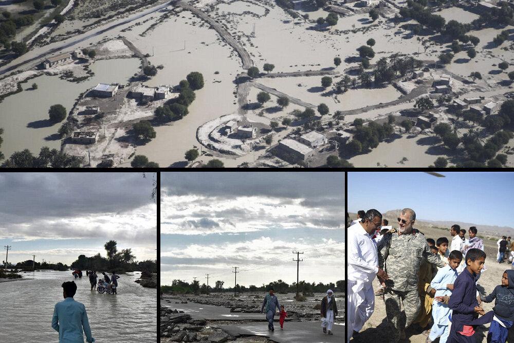 بلوچستان بعد از بارندگیهای سیلآسا/ جبران خسارات عزم ملی میخواهد