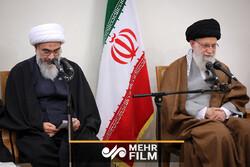 بیانات رهبر در دیدار دستاندرکاران کنگره ۲۰۰۰ شهید استان بوشهر