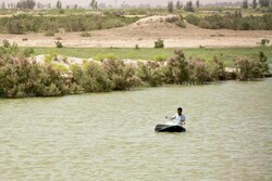 Heavy rainfalls fill Jazmourian wetland by 80%