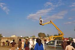 اعزام دهها دستگاه تجهیزات امدادی برای خدمات رسانی به سیل زدگان