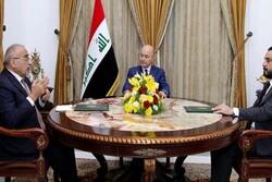 سران قوای عراق بر تسریع در تشکیل دولت جدید تاکید کردند