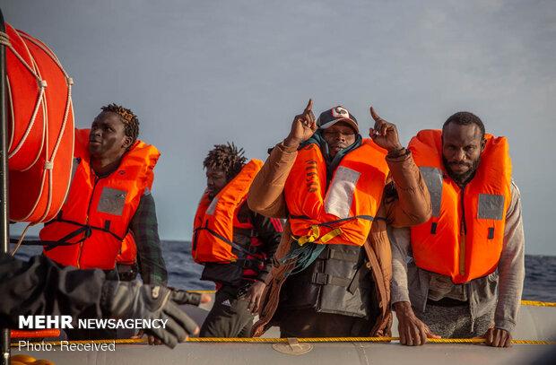 ۲۳۰۰ پناهجو در سال ۲۰۲۰ در مسیر اروپا کشته یا مفقود شدند