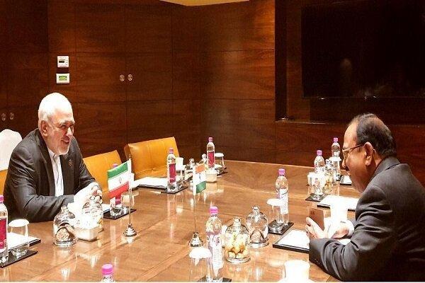 Dışişleri Bakanı Zarif'in Yeni Delhi temasları sürüyor