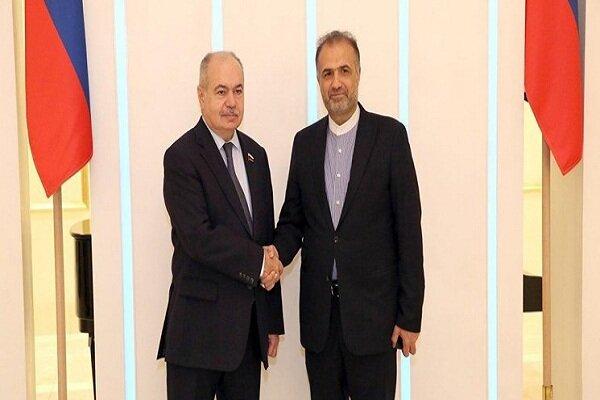 Iran, Russia discuss regional development