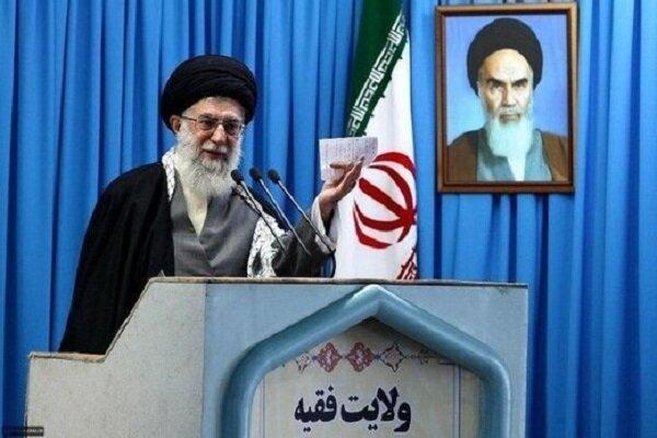 قائد الثورة الاسلامية سيؤم صلاة الجمعة