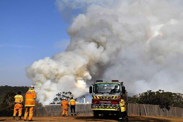 دود  آتش سوزی استرالیا دور زمین می چرخد