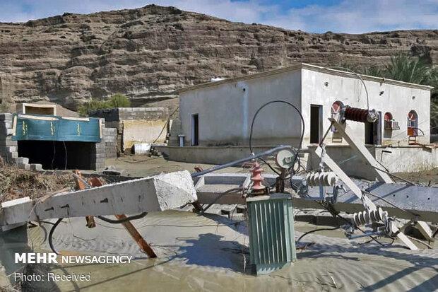 سیل بالغ بر ۲۸۰ میلیارد ریال به مدارس شهرستان جاسک خسارت زد