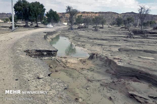 سیل یکهزار میلیارد ریال به راههای سیستان و بلوچستان خسارت زد