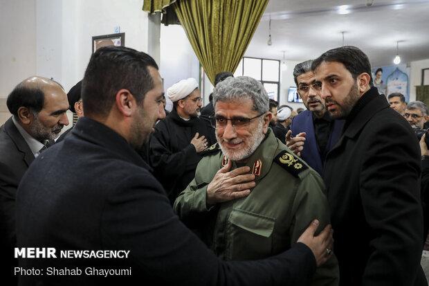 مراسم تأبين الشهيد ابو مهدي المهندس في طهران