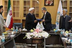 امضاء تفاهمنامه همکاری بنیاد سعدی و دانشگاه اهل بیت(ع)