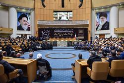 تہران کے سربراہی ہال میں آیت اللہ ہاشمی رفسنجانی کی تیسری برسی منائی گئی