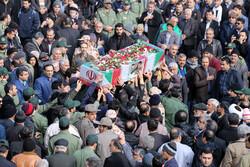 یزد میں امیر حسین قربانی کی تشییع جنازہ