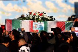 اصفہان میں طیارہ حادثے کے 11 افراد کی تشییع جنازہ