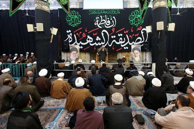مراسم گرامیداشت شهدای سانحه هوایی در قم برگزار شد