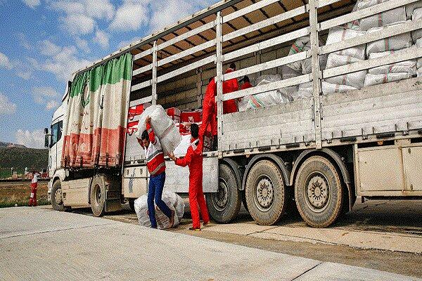 ارسال کمک های خیران گنبدی به مناطق سیل زده سیستان و بلوچستان