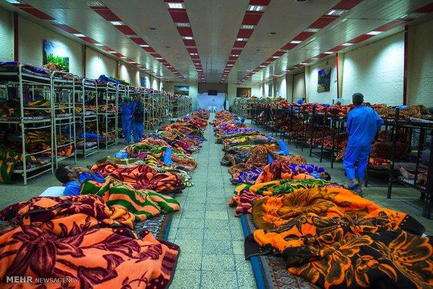 فعالیت ۴ گرمخانه بهزیستی در کرمانشاه/ ظرفیت پذیرش روزانه ۹۰ نفر