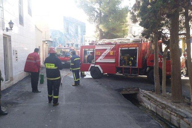 آتشسوزی یک واحد مسکونی در سمنان/ یک نفر جان باخت