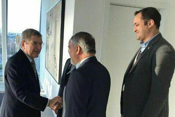 «توماس باخ» از رئیس کمیته ملی المپیک ایران تشکر کرد