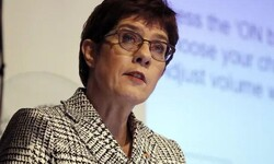 Annegret Kramp-Karrenbauer Germany's defense minister