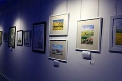 نمایشگاه آثار بانوان با عنوان «اتفاق ۲» در شاهرود گشایش یافت