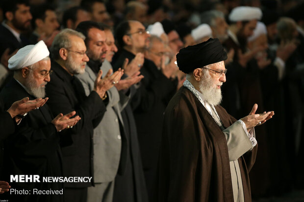 Islamic Revolution Leader in today's Friday prayers