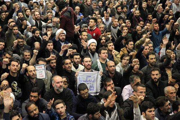 Leader of the Islamic Revolution leads Friday prayers