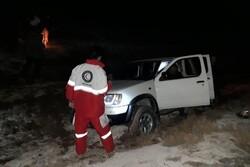 تیم های امداد و نجات به روستای گورزین اعزام شدند