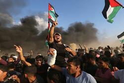 """الفلسطينيون يتجمعون في غزة للمشاركة في المسيرات الرافضة لـ """"صفقة القرن"""""""