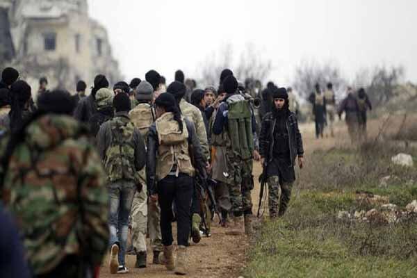 یورش سنگین تروریستها به ارتش سوریه در ادلب