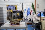 Delivering ceremony for Zafar 1, 2 satellites