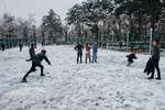 Snow brings joy to Shahr-e-Rey
