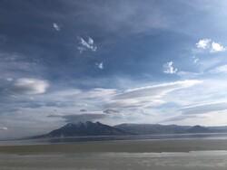 فیلم دریاچه بختگان پس از بارندگی های اخیر