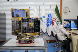 Delivering ceremony for Zafar 1, 2 satellites