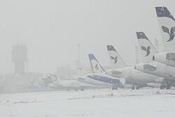 پروازهای فرودگاه مهرآباد برقرار شد