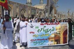 اعزام کاروان زیارتی از هرات به مشهد مقدس