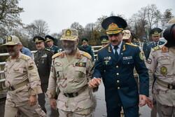 Iran, Azerbaijan border guard chiefs' meeting in Astara
