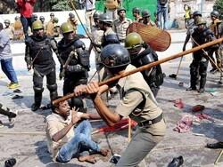 دہلی پولیس کا جامعہ ملیہ اسلامیہ کی طالبات پر بہیمانہ تشدد