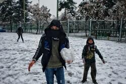 شب برفی تهران/ دمای منفی ۱۹ درجه در شهرکرد