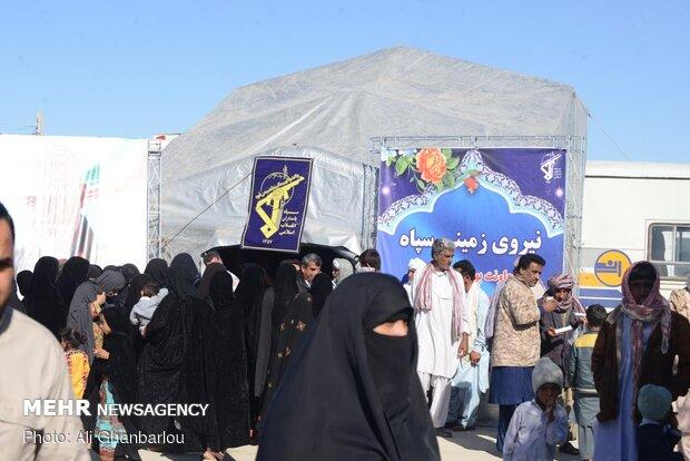 IRGC establishes mobile hospital in flood-hit Sistan and Baluchestan province