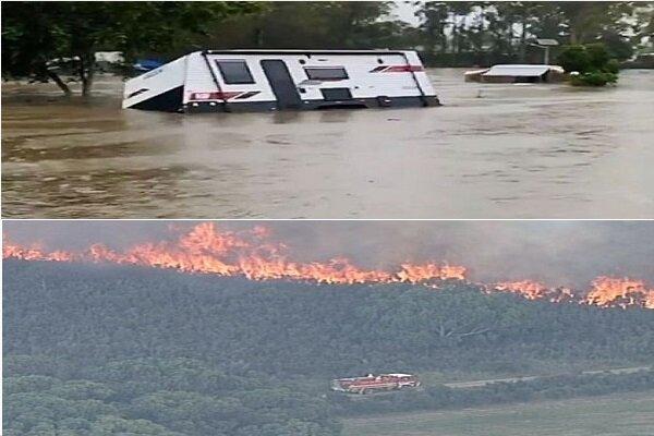 أستراليا بين الحرائق والفيضانات !!!