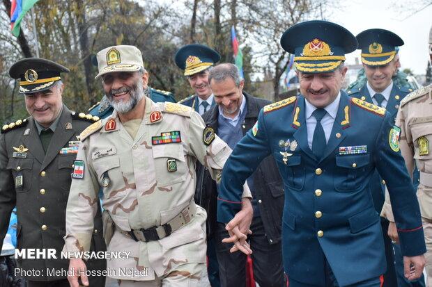 Iran, Azerbaijan border guard chiefs meet in Astara