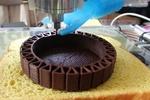 چاپگر سه بعدی، شکلات