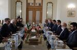 ایرانی وزیر خارجہ سے ونزوئلا کے وزیر خارجہ کی ملاقات