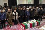 مرحوم فروغ خادم کی تشییع جنازہ