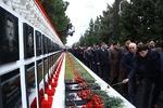 """Azerbaycan'da """"Kanlı Ocak"""" katliamının kurbanları anılıyor"""