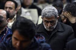 مسجد الرضا میں امریکی حملے کے شہداء کی یاد میں تقریب
