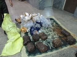 توقیف ۱۰۰ کیلوگرم تریاک در اصفهان